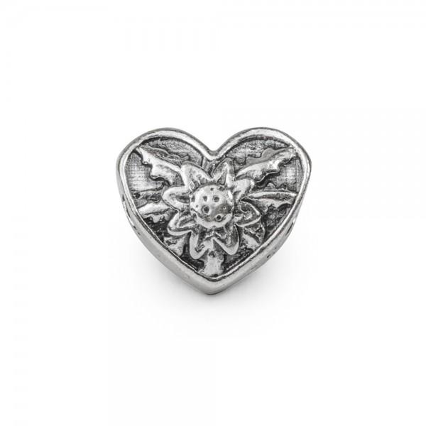 Charm Corazón de Plata Joyerías Eguzkilore