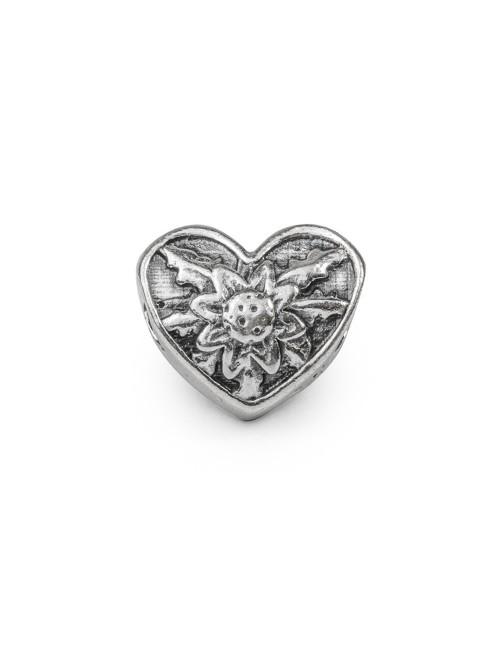 Charm Eguzkilore Corazón de Plata