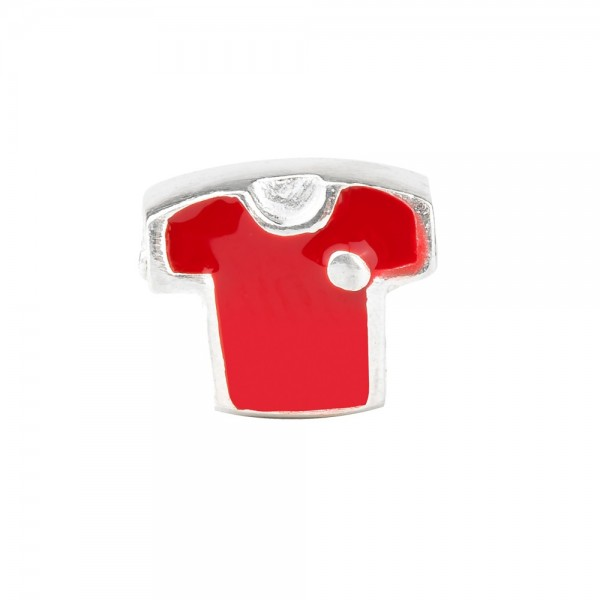Charm Fútbol Roja Joyerías Eguzkilore
