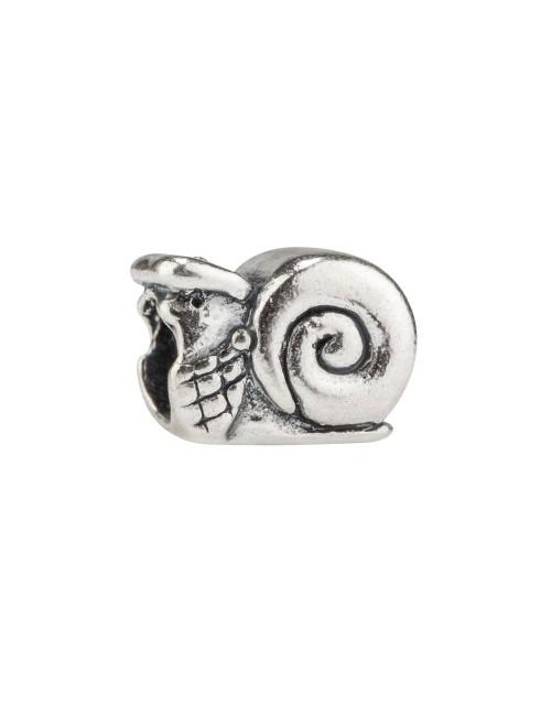 Charm Caracol de San Prudencio abalorio de plata Patrón de alava