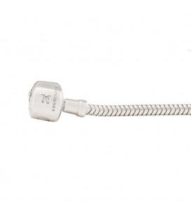 Pulsera plata flexible