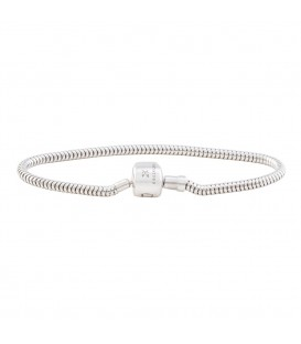 Pulsera plata flexible