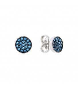 Pendientes Two Azul