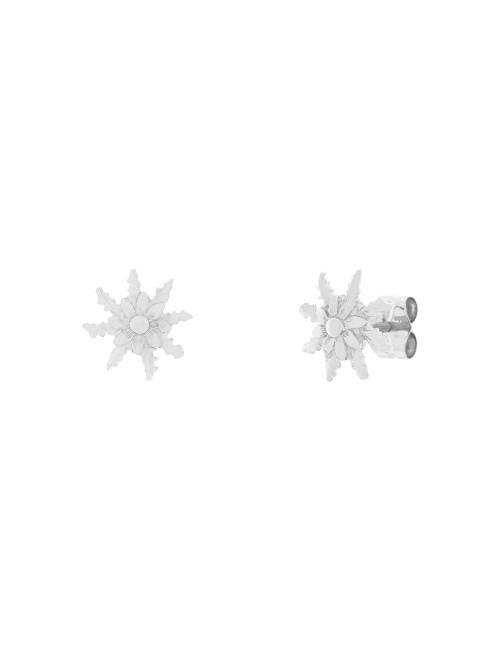 Pendientes 11mm Oro Blanco