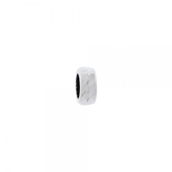 Pieza Separadora Diamantada de Plata Joyerías Eguzkilore