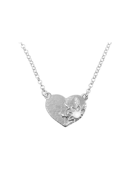 Colgante Corazón Eguzkilore Plata Personalizable