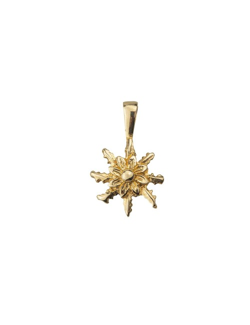 Colgante Eguzkilore  Oro Amarillo 12mm