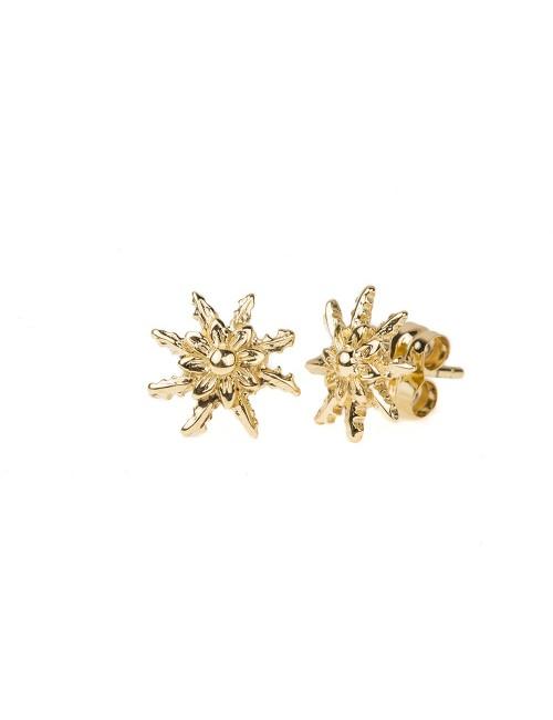 Pendientes Eguzkilore Oro Amarillo
