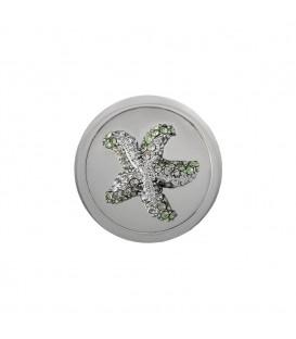 Mi Moneda Estrella de Mar piedras Verdes