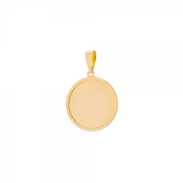 Medalla Oro Personalizable Joyerías Eguzkilore