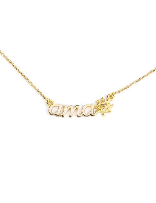 Collar Ama de Oro Amarillo