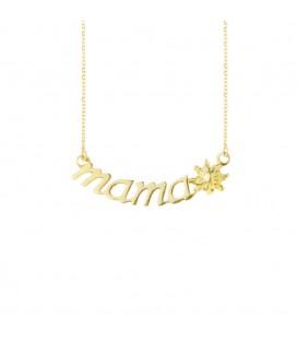 Collar Mamá de Oro Amarillo Joyerías Eguzkilore
