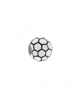 Charm Balón Fútbol Plata Joyerías Eguzkilorre