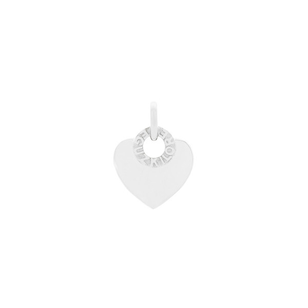 Colgante Corazón de Plata Personalizable Joyerías Eguzkilore