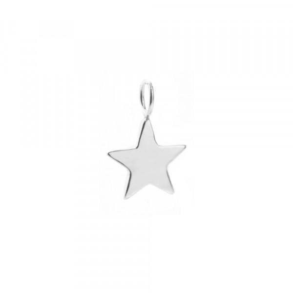 Colgante de Plata en Forma de Estrella Joyerías Eguzkilore