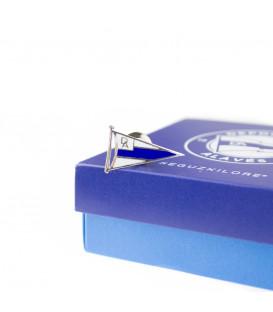 Pin Alavés con caja oficial del centenario
